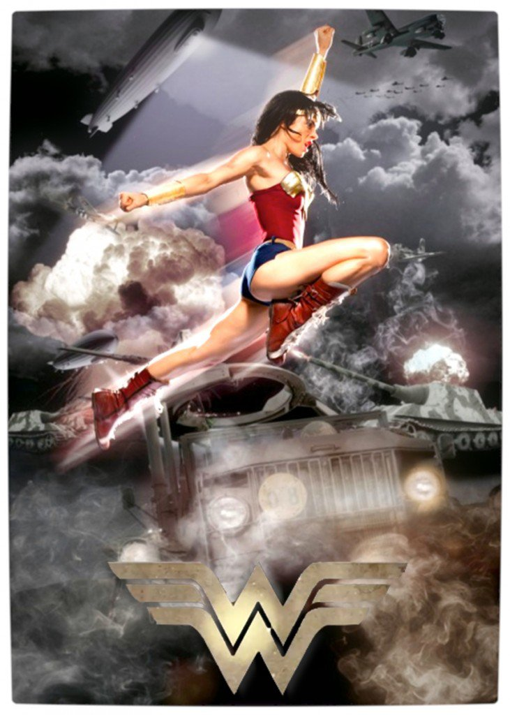 Vamers - Fandom - Wonder Woman Movie (Fan made) - Poster
