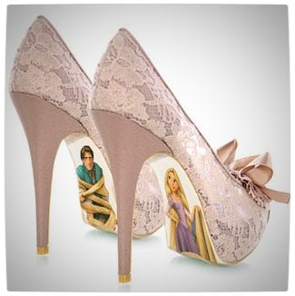 Vamers - G-Life - Sexy Shoes Inspired by Disney Princesses - Tangled