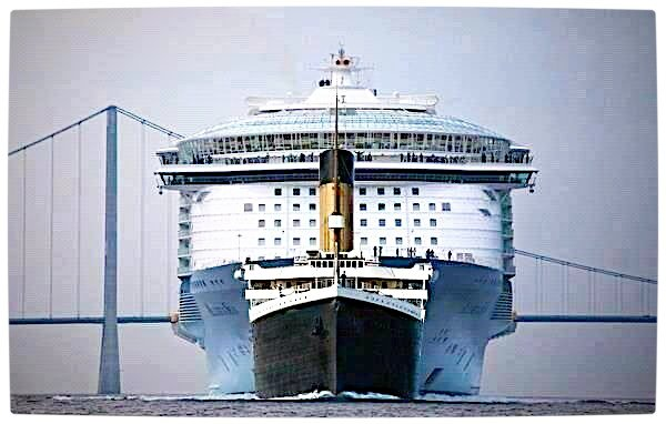 Titanic Vs Modern Cruise Ship | Rebrn.com