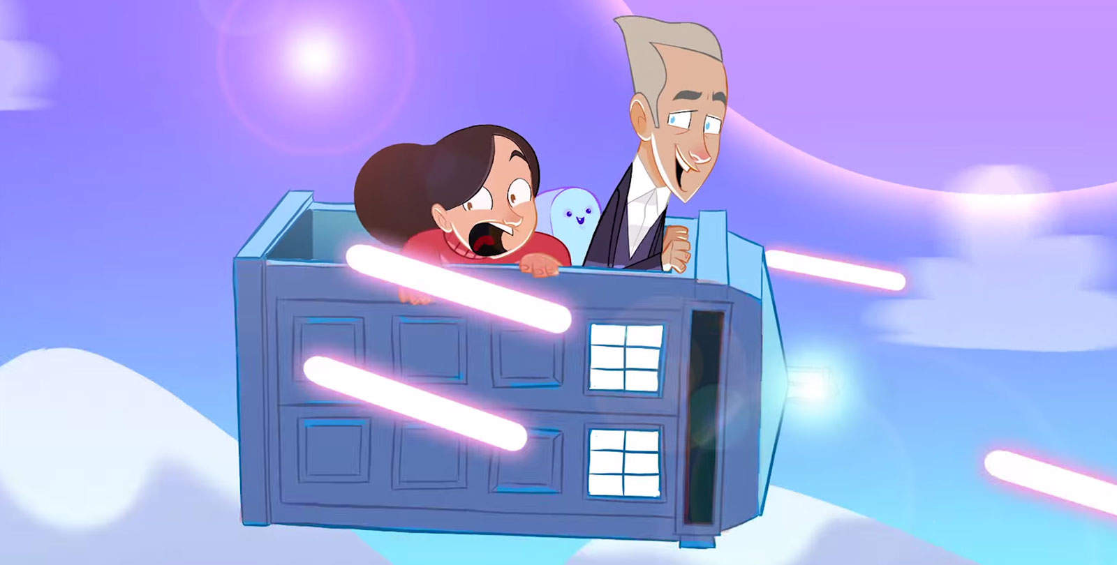 Imagining Doctor Who as an Animated Adventure