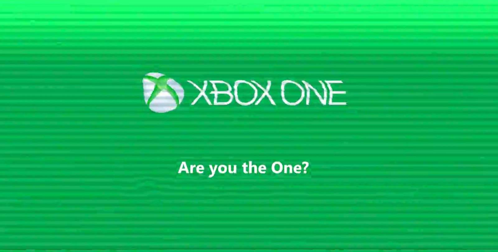 Are you the ONE? Find out in Microsoft's Cryptic Xbox One Campaign