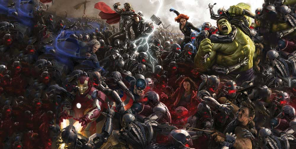 The Avengers: Age of Ultron [Official Teaser Trailer]