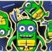 Teenage Minion Ninja Turtles: Henchmen in a Half Shell